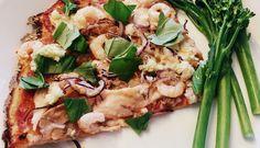 Terveellinen, ohut ja rapea pitsapohja (gluteeniton)
