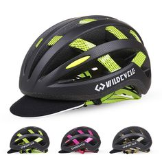 27.54$  Buy now - http://ali2bw.shopchina.info/go.php?t=32797383356 - 2017 Cascos Ciclismo Bike Helmet Road Bicycle Cycling Helmet Cover With LED Lights Capacete MTB Helmet Capacete Ciclismo Estra  #magazine