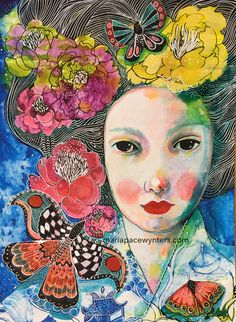 Maria Pace-Wynters   Mixed Media Artist