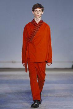 Damir Doma Fashion Show Menswear Collection Fall Winter 2017 in Milan