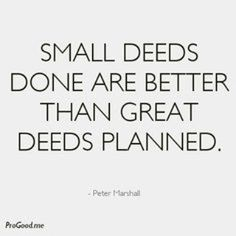 Have you done your good deed for the day?