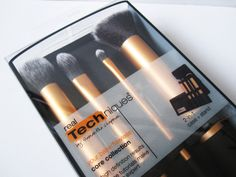 """We Were Raised By Wolves: Review: Real Techniques Core Collection Brushes  Blogger says: """"These brushes seriously live up to their hype and I absolutely love them; from their sleek design to their ultra soft taklon bristles, Real Techniques have set the standard for what all other brushes that I ever buy in the future will be compared to."""""""