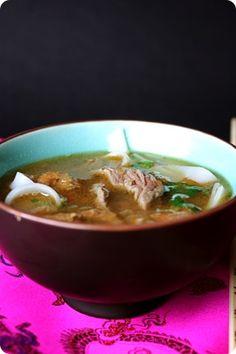 Les recettes de Julie : Soupe pho vietnamien | Ligne & Papilles