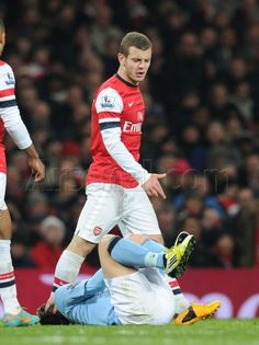 Jack in the thick of it against #ManCity. #Arsenal