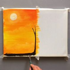 Amazing art and painting ideas : Easy Canvas Art, Simple Canvas Paintings, Small Canvas Art, Canvas Ideas, Canvas Painting Tutorials, Acrylic Painting Techniques, Art Painting Gallery, Oil Pastel Art, Art Drawings Sketches Simple