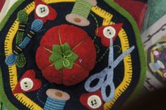 A wool felt design and wool felt is also available to purchase as a kit.