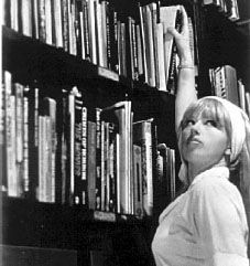 Books and Art The luscious librarian. Photograph by Cindy Sherman. Untitled Film Still Gelatin silver print. The Museum of Modern Art, New York. © 2012 Cindy Sherman. Alfred Stieglitz, Stephen Shore, Cindy Sherman Film Stills, Cindy Sherman Photography, Untitled Film Stills, Saatchi Gallery, Wow Art, Female Photographers, Photoshop