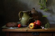 Фотограф Елена Татульян (Elena Tatulyan) - Нектарины и виноград #1463532. 35PHOTO