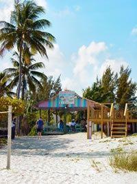 Margarita Villa Sand Bar Beachfront Restaurant Bahamas  Located on the sand road off Millionaire's Row (Spanish Main)  Freeport/Lucaya, Grand Bahama Island, The Bahamas