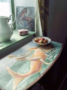 Duncan Grant's room at Charleston