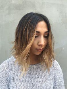 Asian Short Hair Ombre