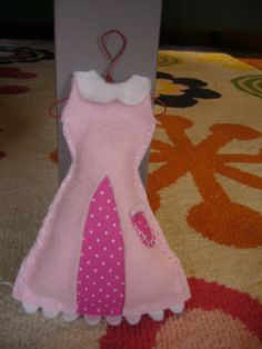 miniature dress!