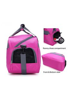 1035276c1e MIER 20 inches Sports Gym Bag Travel Duffel Bag with Shoes Compartment for  Women and Men