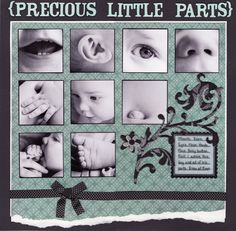 Precious Little Parts - Good layout for small baby