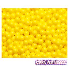 Just found Sugar Candy Beads - Yellow: 2LB Bag @CandyWarehouse, Thanks for the #CandyAssist!