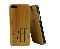 New iZen #bamboo #iphone case, makes a great #gift - http://www.izenbamboo.com/products/bamboo-smart-phone-case-for-iphone-5-5s-izen-logo-engraged