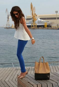 Summer jeans and shirt inspiration for pretty women   Fashion World