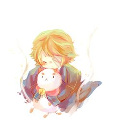 """Vocaloid Oliver plays the voice of Puppycat, from """"Bee and Puppycat"""", which I just got into not 5 minutes ago. So right now this is the number one cutest thing in the universe."""