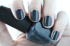 OPI Fifty Shades Of Grey - Dark Side Of The Mood Swatch via @FabFatale