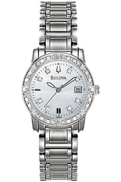 Ladies Bulova Diamond Highbridge Collection REF 96R105 $399.00 Every diamond is set by hand. Every setting is designed to allow for maximum illumination. The Bulova Diamond Collection – there's no better way to light up a room. Bulova is the industry leader in diamond watches.