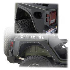 Smittybilt® XRC Armor Rear Corner Guards for 07-up Jeep® Wrangler Unlimited JK 4-Door