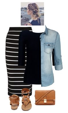 Love by bye18 on Polyvore featuring Theory, LE3NO, Balmain, Breckelle's and Forever 21