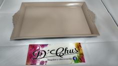 Bandejas del modelo Rectangular Pastel. #dchusregalos #DCHUS #bandejasrectangularpastel