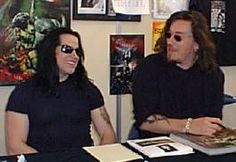 GLENN DANZIG and SIMON BISLEY ~ 1999