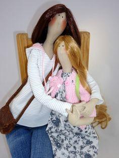 Артель игрушек -Ольги Гладких: Дочки- матери