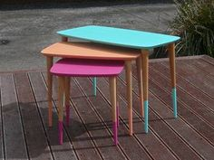 Funky Retro Nest Tables