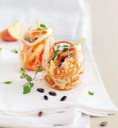 Salade acidulée aux graines de courge