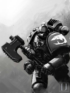 It is also believed by some that the Space Sharks may be a Successor Chapter of the White Scars because part of the scouting company of that Space Marine Legion got separated from the rest of the Legion during the Horus Heresy and that upon returning after the end of the Heresy they formed their own Space Marine Chapter specializing in the use of Scout Marines.