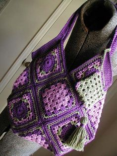A great use for granny squares