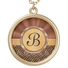 """Monogrammed Necklace for Moms, Women, Gold /Silver.  Personalization Gifts  Make a statement with Customizable Gifts with YOUR PHOTOS and or TEXT. http://www.zazzle.com/littlelindapinda/gifts?cg=196011228045420884&rf=238147997806552929    Easy to use Templates.  Click """"Change"""" to Upload YOUR PHOTO  and type in YOUR TEXT into the TEXT BOX(es).  ALL of Little Linda Pinda Designs CLICK HERE: http://www.Zazzle.com/LittleLindaPinda*"""