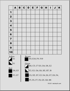 Karácsonyfa (kemény) Rács színezés - nagy kép Mental Maths Worksheets, Worksheets For Kids, Coding Classes For Kids, Visual Perception Activities, Basic Programming, Word Puzzles, Puzzle Books, School Programs, Color Activities