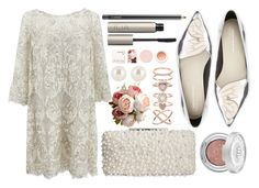 """City Hall"" by miica-olavarria ❤ liked on Polyvore featuring Marchesa, Sophia Webster, Urban Decay, Korres, MAC Cosmetics, Badgley Mischka, Ilia, Henri Bendel, Accessorize and FashionSetOfTheDay"