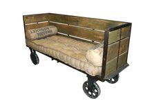 Sofás modernos de diseño industrial. Muebles contract FS | Muebles vintage, mobiliario retro e industrial
