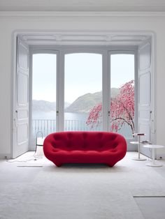 Seating _ Ploum sofa designed by Ronan and Erwan Bouroullec for Ligne Roset http://decdesignecasa.blogspot.it