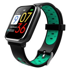MEISHENG Fitness Tracker, Activity Tracker Watch with Heart Rate Monitor Smart Waterproof Smart Fitness Pedometer Sleep Monitor Watch for Kids Women and Men,Green -- Check out this great product. (This is an affiliate link) Smartwatch Waterproof, Smartwatch Bluetooth, Wireless Earbuds, Sport Watches, Watches For Men, Activity Tracker Watch, Fitness Activities, Fitness Watch, Koh Tao