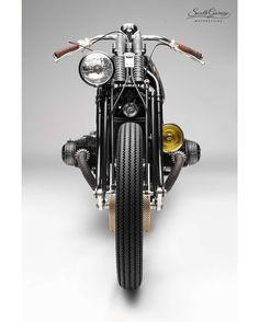 Bmw Cafe Racer, Moto Cafe, Cafe Bike, Bike Bmw, Cool Motorcycles, Vintage Motorcycles, Motos Vintage, Vintage Bikes, Vintage Cars