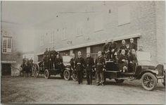 Palokunta, Hackman, v.1920 #palokunnat #palomiehet #paloautot #firebrigade
