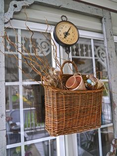 Every year I like to change up my screened porch a bit. In order to do that, I often sell a few of my vintage pieces in Rust & . Outdoor Remodel, Shabby Chic Christmas, Decor, Easter Front Porch Decor, Primitive Decorating, Chic Christmas Decor, Shabby Chic Farmhouse, Farmhouse Front Porches, Shabby Chic