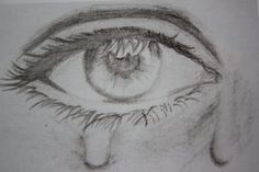 anime drawing ideas on Pinterest | Manga Eyes, How To Draw and Manga Crying Eye Drawing, Cry Drawing, Crying Face, Drawing Sketches, Painting & Drawing, Eye Drawing Tutorials, Drawing Techniques, Art Tutorials, Drawing Ideas