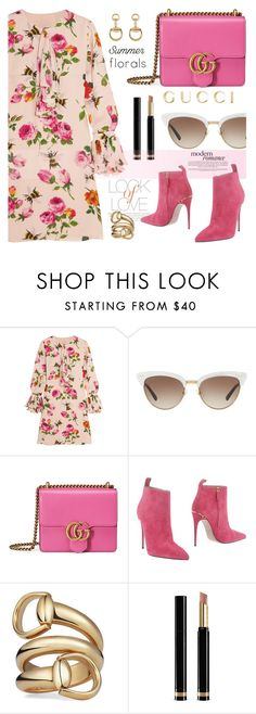 """""""Summer florals"""" by jan31 ❤ liked on Polyvore featuring Gucci and Vince"""