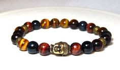 Men's Tiger Eye Bracelet – BlueStoneRiver