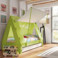 Bett Mit Zeltdach Weckt Die Fantasie Der Kinder Fjos Paradies