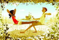 Lunch by Pascal Campion