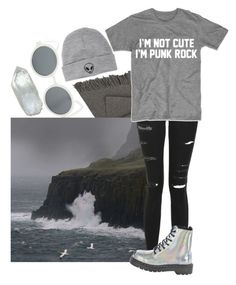 """""""The people are angry, crying, sad and lost"""" by biter-sweet ❤ liked on Polyvore featuring Hot Topic, Elvang, Topshop and With Love From CA"""