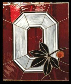stained glass ohio state | Dave Taylor's Ohio State University-themed stained-glass artwork will ...