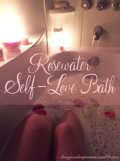 Waning Moon ~ Self-Love Rosewater Bath!Hey everyone! In case you were wondering what I was going to do with all that rosewater I made yesterday…oh, baby, have I got a treat for you. My intention for...